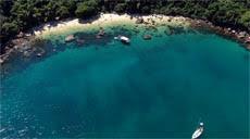 Praia de Fora na Ilha das Couves em Ubatuba