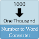 Number to Word Converter for PC-Windows 7,8,10 and Mac