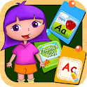 Alphabet ABC baby kids games icon