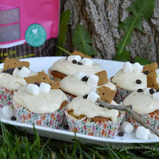 Gluten-Free S'mores Cupcakes and Cup4Cup giveaway!.