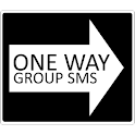 One Way Sms icon