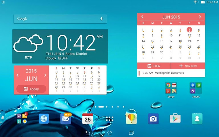 Screenshot 2 ASUS Kalender