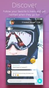 b.live - fun live video chat screenshot 4