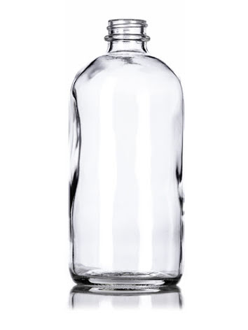 Glasflaska - klar, 100 ml UTFÖRSÄLJNING