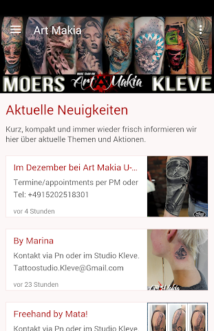 android Art Makia Kleve Screenshot 0