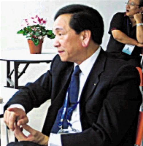 EXCITED: AIBA president Ching-Kuo Wu. © Unknown.