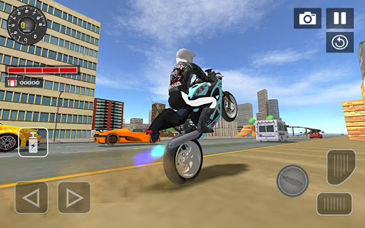 Sports bike simulator Drift 3D 1.3 screenshots 1