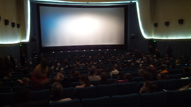 "Photo: Colosseum cinema room before ""Free Range"" started"