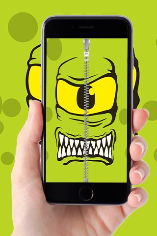 Monster Zipper Go Locker
