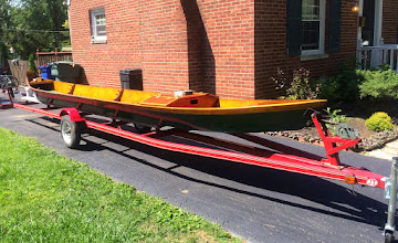 Photo: The AuSable boat is out of the shop and on the trailer.....ready to float. Who's in?