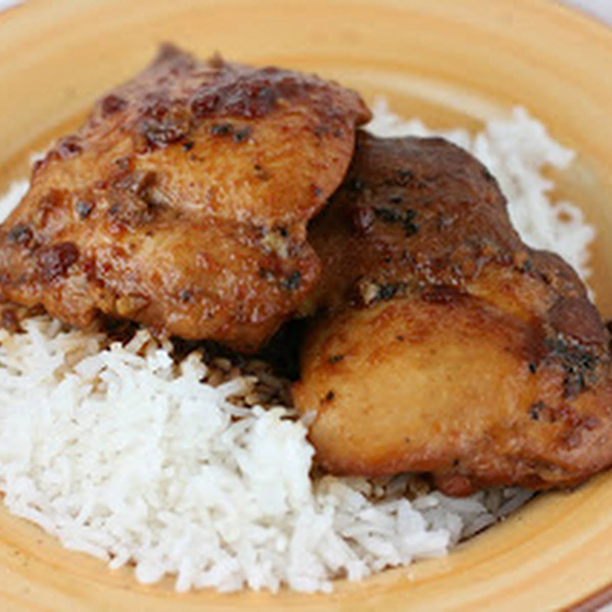Honey Garlic Chicken Slow Cooker