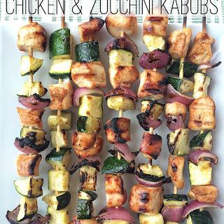 Chicken & Zucchini Kabobs
