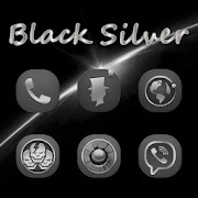 Black Silver Theme - Icon Pack