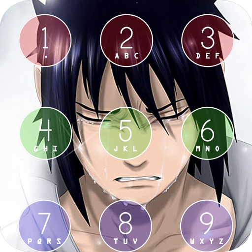 Sasuke uchiha lock screen