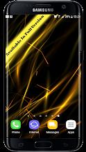 Neon Particles 3D Live Wallpaper screenshot thumbnail