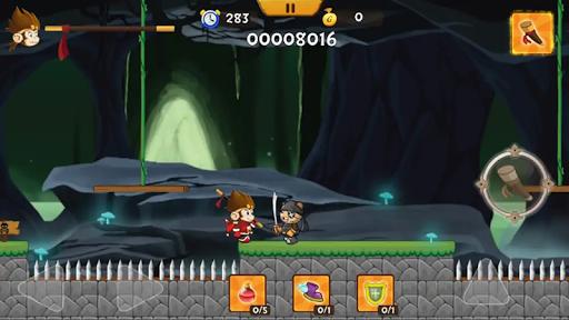 Télécharger Gratuit Sincerely Super Fighter - Kong Run APK MOD (Astuce) screenshots 2