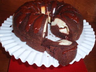 Cheese And Chocolate Tunnel Cake Recipe
