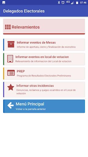 (APK) لوڈ، اتارنا Android/PC/Windows کے لئے مفت ڈاؤن لوڈ ایپس Aplicación para Delegados de la Justicia Electoral screenshot