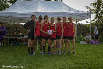 Photo: Awards: Boys Top Varsity Team - Kamiakin Pasco Bulldog XC Invite @ Big Cross  Buy Photo: http://photos.garypaulson.net/p1047105549/e457fa3f2