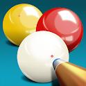 Billiards 3 ball 4 ball icon