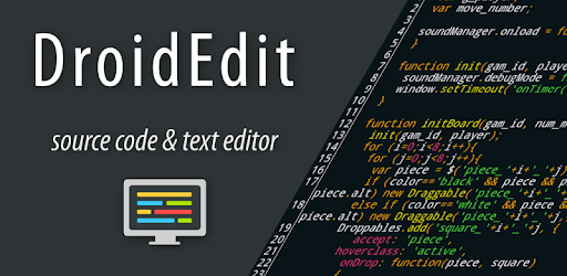 DroidEdit (free code editor) - Apps on Google Play