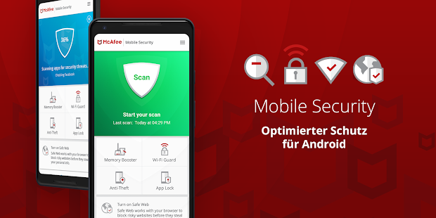 Mobile Security: WLAN VPN & Virenschutz kostenlos Screenshot