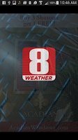Screenshot of FOX 8 Weather