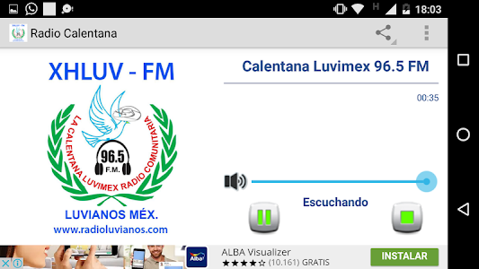 Radio Calentana Mexiquense screenshot 1