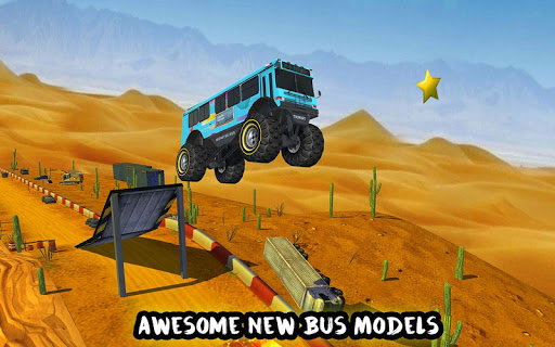 玩免費賽車遊戲APP|下載疯狂的妖怪公共汽车特技赛 app不用錢|硬是要APP