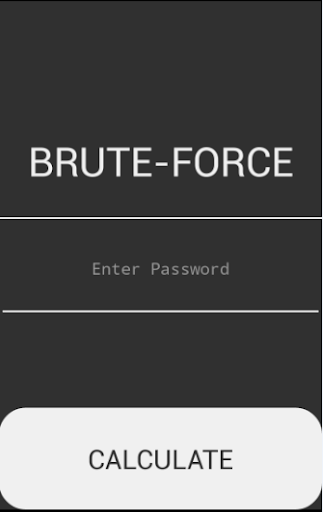 Brute-Force Calculator