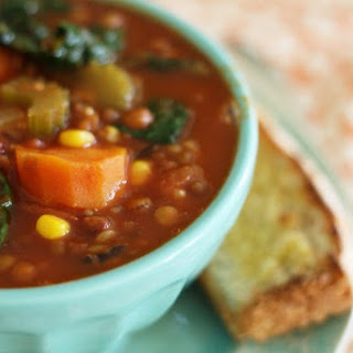 Vegetable Lentil Rice Soup Recipes