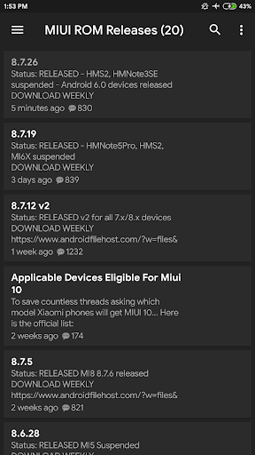 MIUI Updates 2.4 screenshots 4