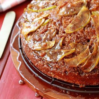 Caramel Apple Upside-Down Cake.