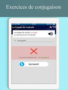 Download conjugueur-exercices conjugaison française For PC Windows and Mac apk screenshot 15