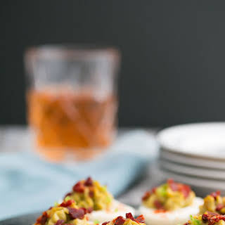 Avocado, Jalapeno & Bacon Deviled Eggs & the Hard Boiled Egg Trick.