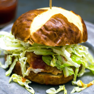 BBQ Chicken Burger.