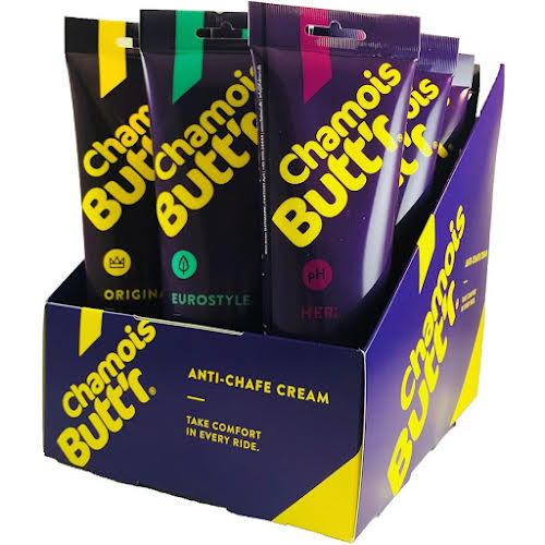 Chamois Butter 8oz Variety Pack: 6 Original, 3 Her, 3 Eurostyle