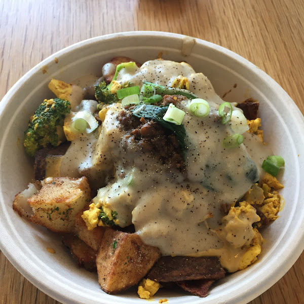 Potato Bowl for brunch! The flavor was outstanding