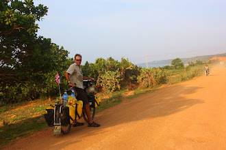Photo: Year 2 Day 21  -  The Start of the 20km Dirt Track out of Phan Ri Cua