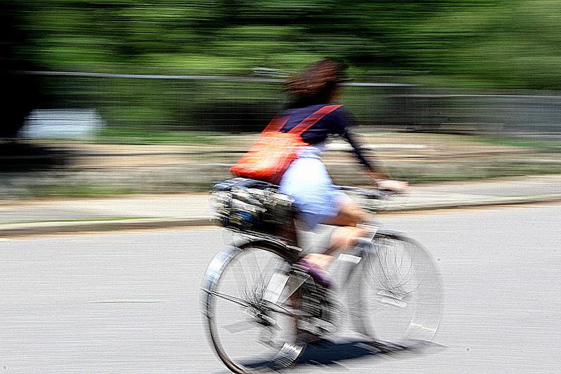 pedalando di Naldina Fornasari