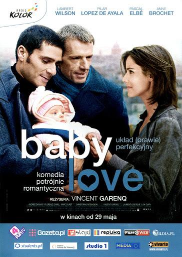 Przód ulotki filmu 'Baby Love'