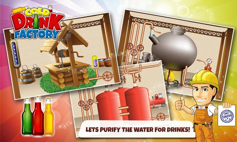 android Cold Drinks Factory - Chef Screenshot 4