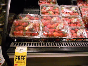 Photo: We are spoiled during the summer months with local strawberries, but this deal was too good to pass up during the winter months.