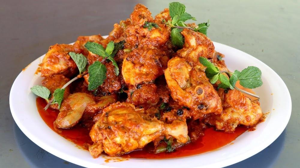 Home made curd chicken