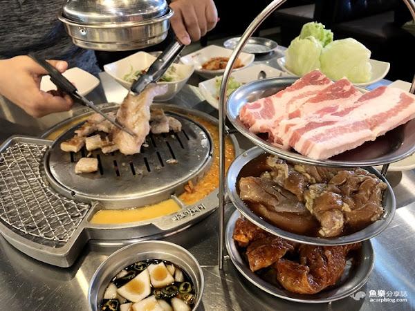 新麻蒲海鷗마포갈매기 台灣2號店│韓式燒烤吃到飽│西門町美食