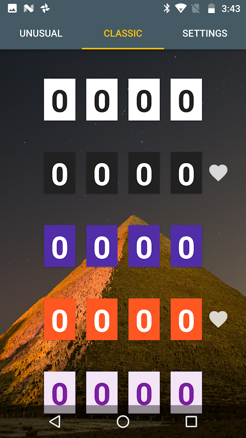 Material Clock- screenshot