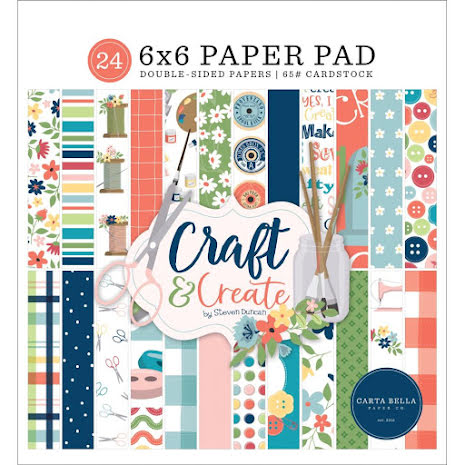 Carta Bella Double-Sided Paper Pad 6X6 - Craft & Create