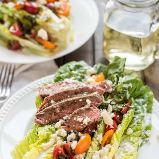 Steak and Blue Cheese Wedge Salad.