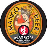 Matso's Broome Mango Beer
