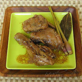 White Chicken Adobo with Lemongrass